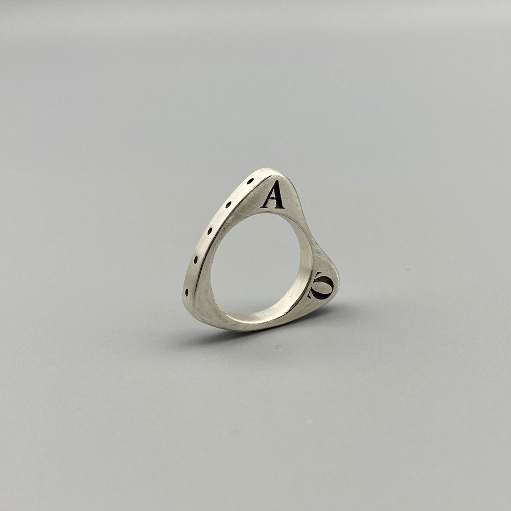 Alpha Rosary Ring