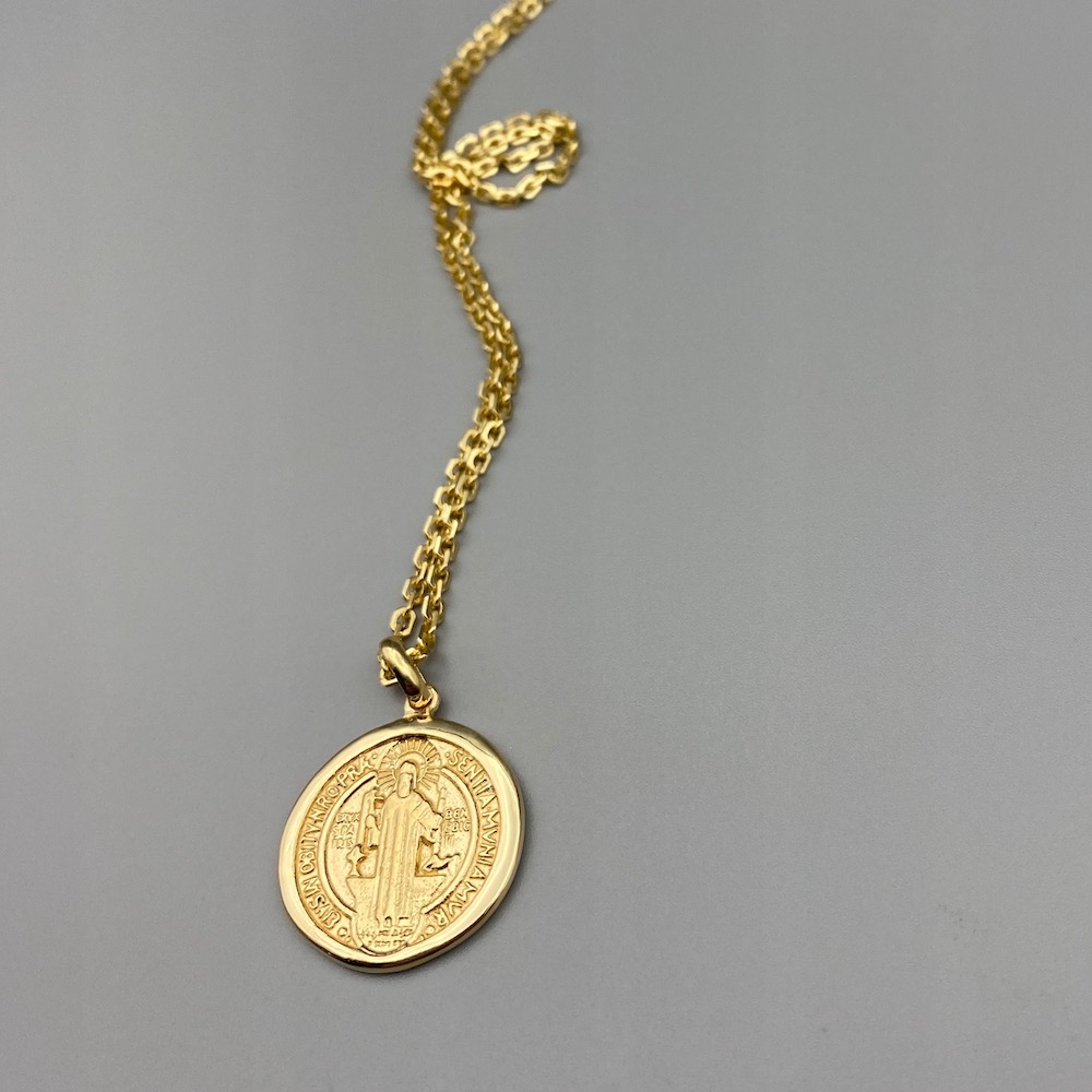 711 Saint Benedict Medal Necklace